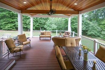 Finished Porch Interior