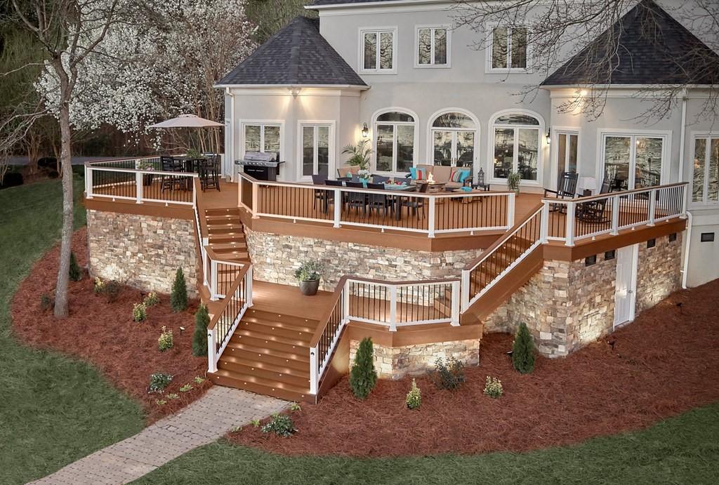 11 Deck Patio Landscaping Ideas Decks Com Decks Com By Trex