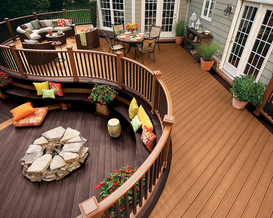 5 Ways To Use Your Deck In The Winter Decks Com By Trex