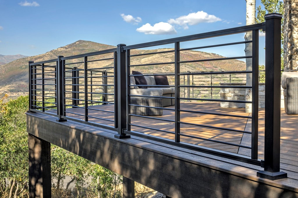 Best Aluminum Deck Railings: Reviews & Benefits | Decks ...