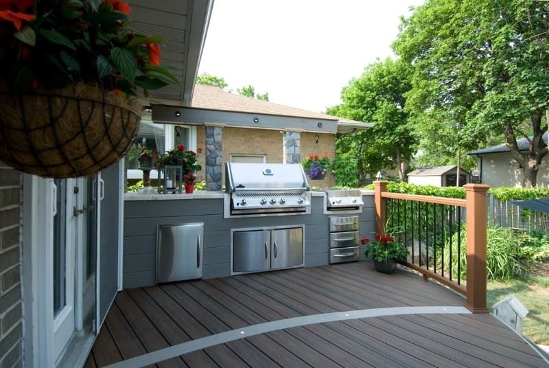 Best Outdoor Kitchen Design Ideas For 2021 Decks Com By Trex