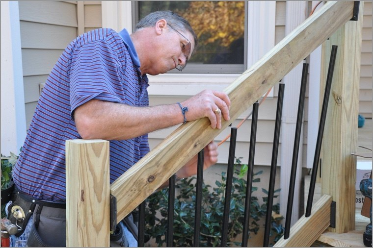 Install Deck Stair Railings Image@2X