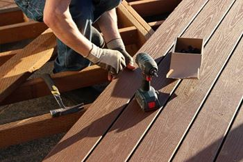 Installing Composite Decking Over Concrete
