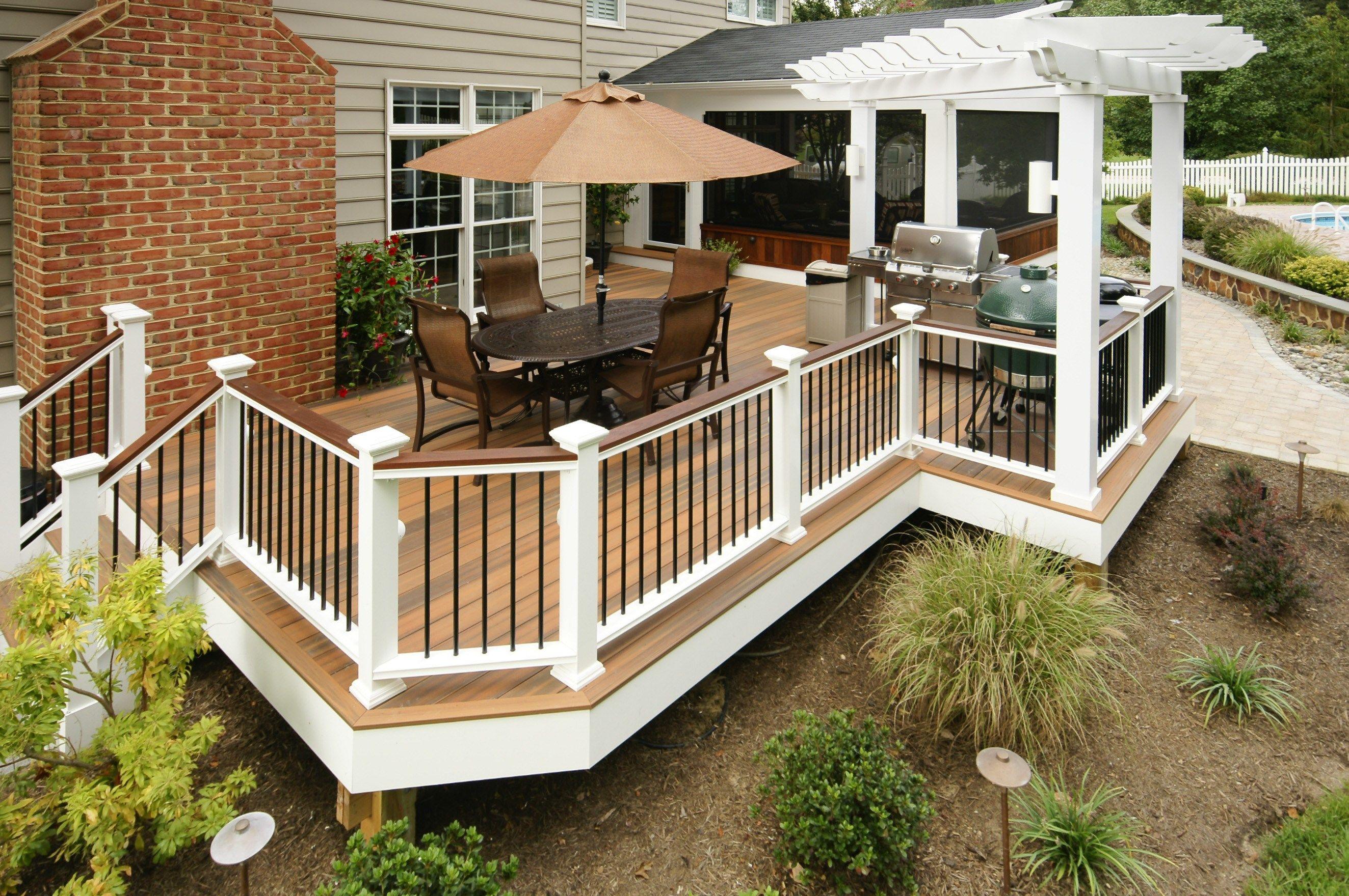 Deck Ideas Designs Pictures Photogallery Decks Com By Trex